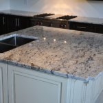 Pic of White Ice Granite That Amazing