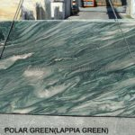 POLAR GREEN 10022 - 4 Slabs of 2 cm and 7 of 3 cm - 298x135